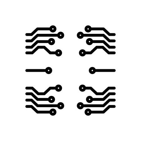 Icon for software,information  イラスト・ベクター素材