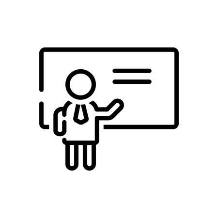 Icon for teaching,teach Иллюстрация