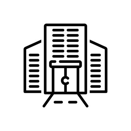 Icon for corporate,building
