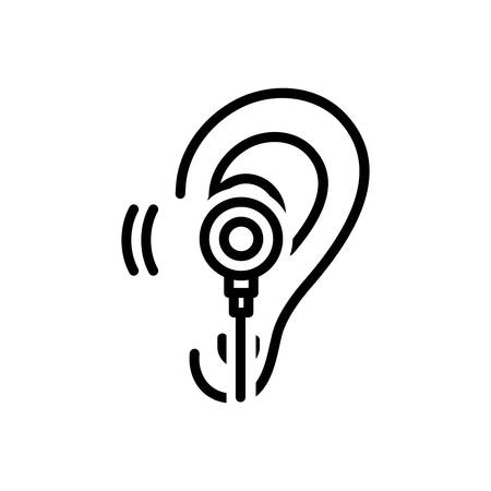 Icon for listen,hear