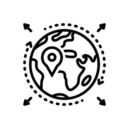 Icon for geo,zone