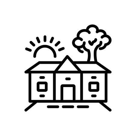 Icon for homestead,barton