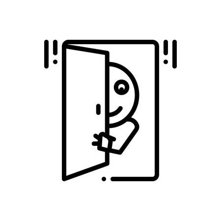 Icon for Peek,peep 일러스트
