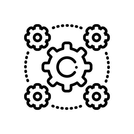 Icon for Interoperability ,spacing