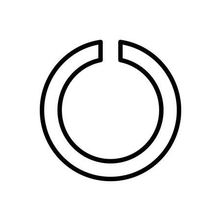 Icon for Notch ,logo Иллюстрация