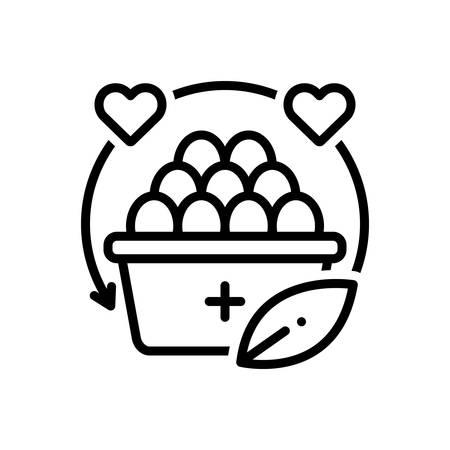 Icon for Nutrition,diet Illusztráció