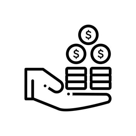 Symbol für Gewinn, Nutzen