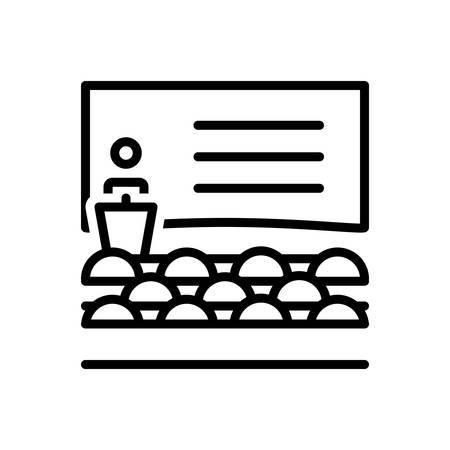 Icon for Class,student Ilustração