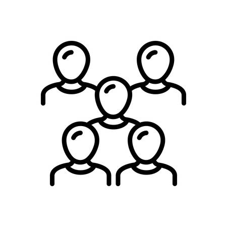 Icon for Crowd,multitude