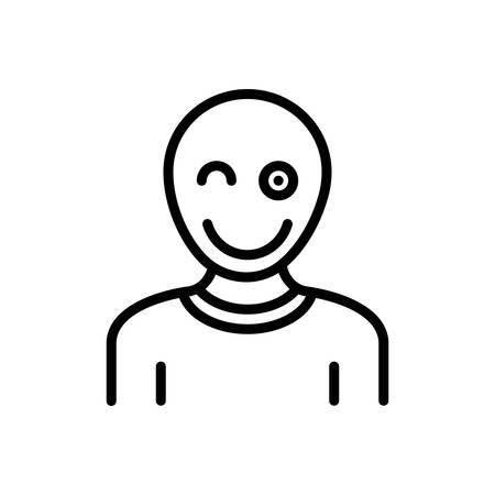 Icon for Fun,mockery Illustration