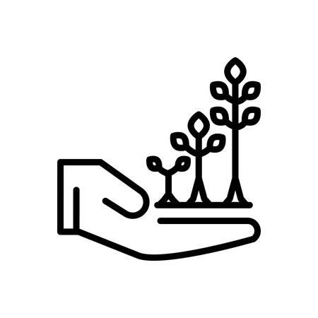 Icon for Grow,skyrocket Illustration