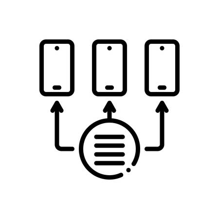 Icon for Provisioning,access Illusztráció