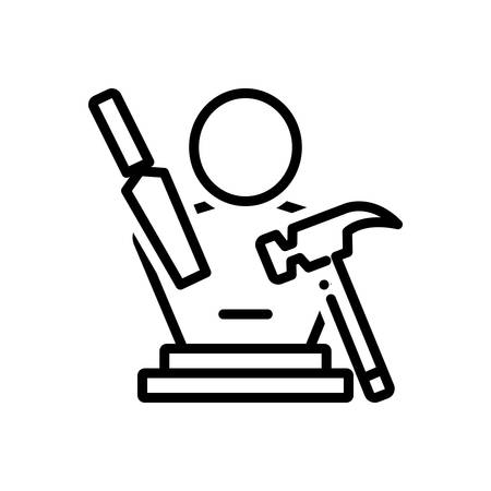 Icon for Sculpting, art