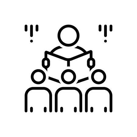 Icon for Storyteller,raconteur