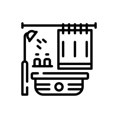 Icon for Bathroom, bathtub