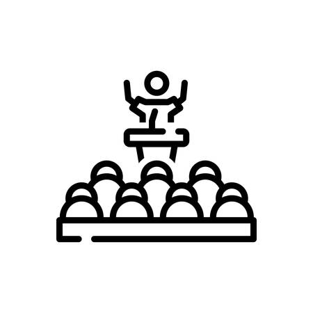 Icon for Leader,chieftain  イラスト・ベクター素材