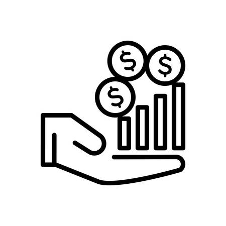 Icon for Revenue,income