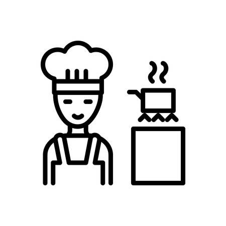 Icon for Cooking,apron Illustration