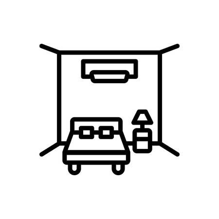 Icon for Room apartment Illusztráció