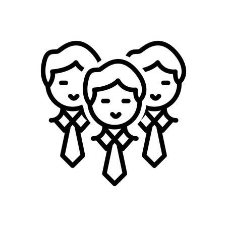 Icon for Staff,people Illustration