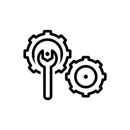 Icon for Fix,cogwheel