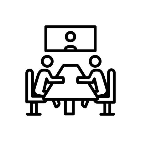 Icon for Meeting,convention