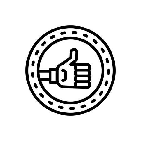 Icon for Positive,ok 向量圖像