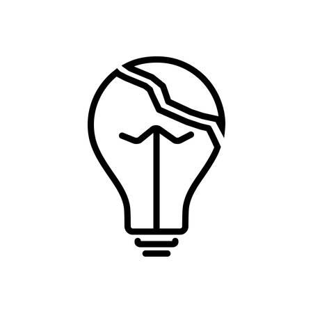 Icon for Useless,idle Illustration