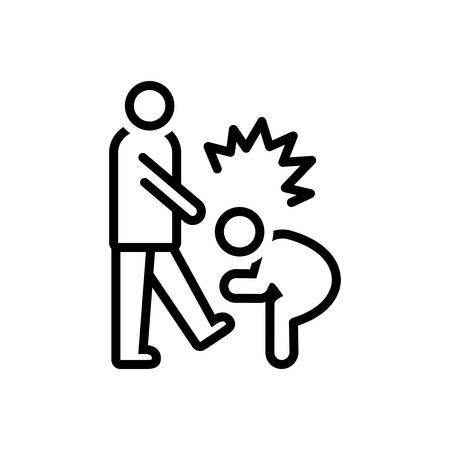 Icon for Abusive,outrageous