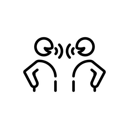 Icon for Speak,say Ilustrace