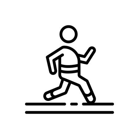 Icon for Active,running 向量圖像
