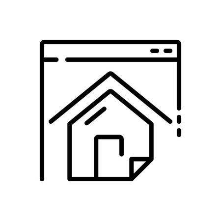 Icon for Homepage,ebsite