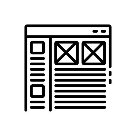 Icon for Interface,user Stock Vector - 128325289