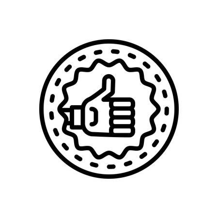 Icon for Quality,property Ilustração