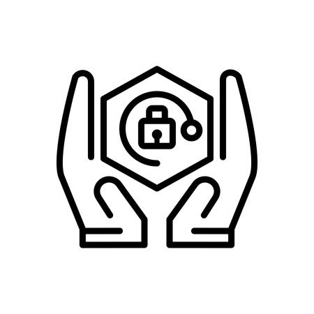 Icon for Safety,security Illustration