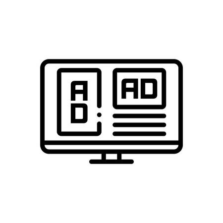 Icon for adspace,mockup