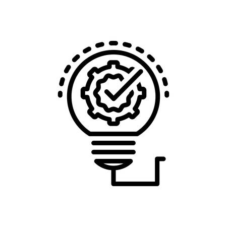 Icon for Solution,innovation