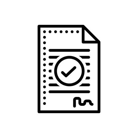 Icon for agreement,compromise