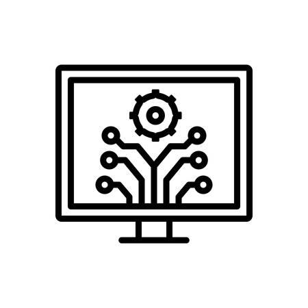 Icon for development,innovation 일러스트