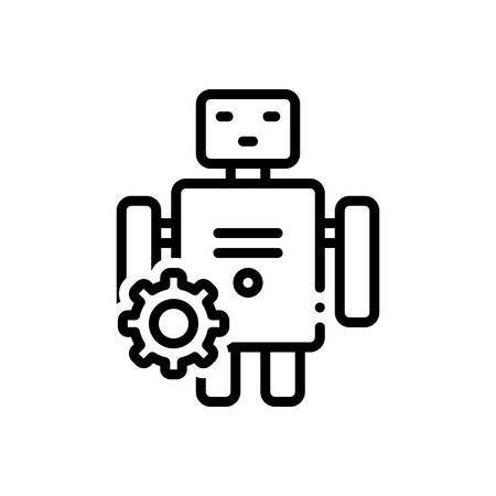 Icon for automatically,machine