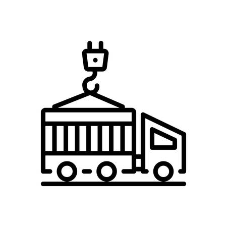 Icon for container,cargo Illustration