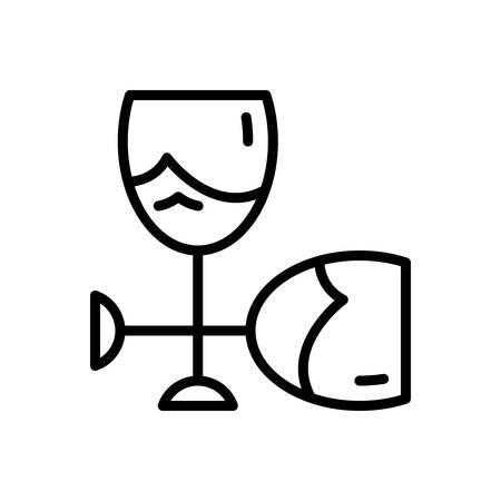 Icon for glass ,sandblast