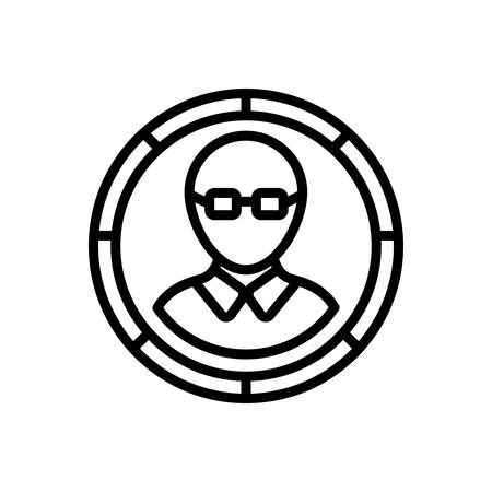 Icon for member,people  イラスト・ベクター素材