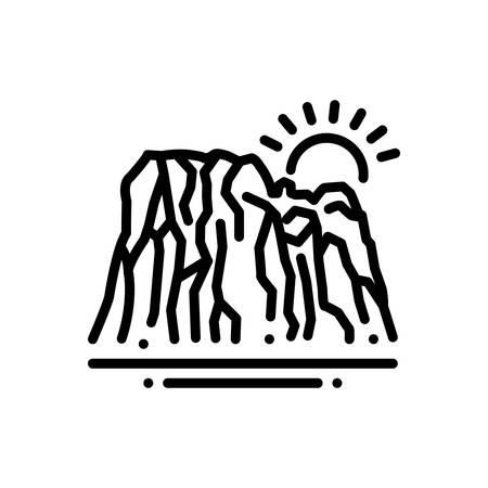 Icon for bedrock,basis Иллюстрация