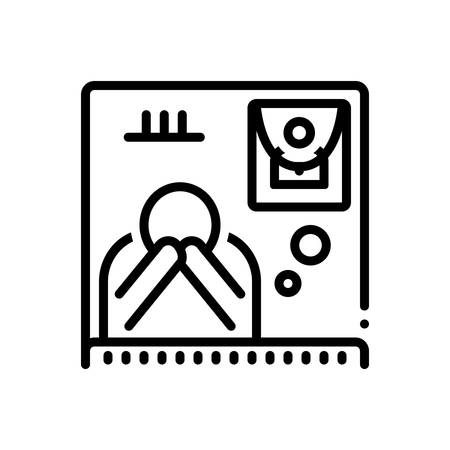 Icon for bereaved,funeral