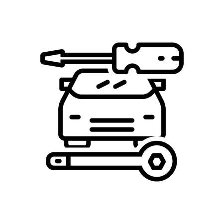 Icon for auto,repair
