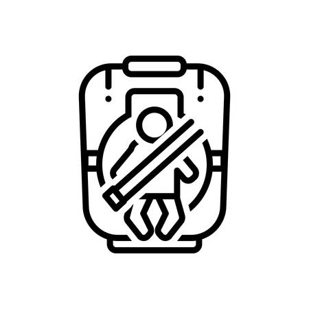 Icon for baby,seat
