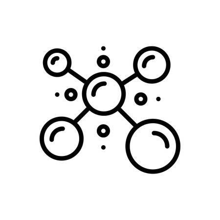Icon for biophysics,physicist Imagens - 128542411