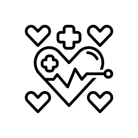 Icon for health,medical Ilustracja