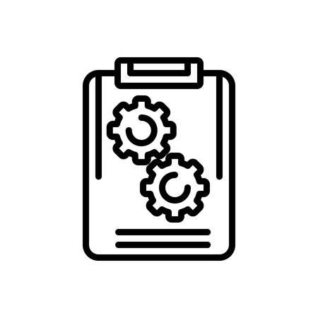 Icon for project,plan Archivio Fotografico - 128575794